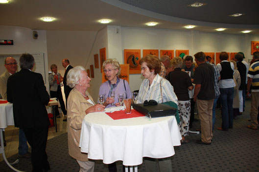 MAI 2011  Kunst-Ausstellung in der Stadtsparkasse Bad Sachsa