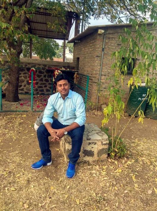 Dev Jat at Meherabad Hill
