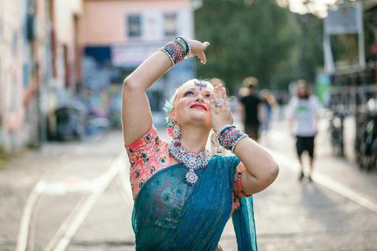 Manjulali Bollywood Tänzerin in Berlin
