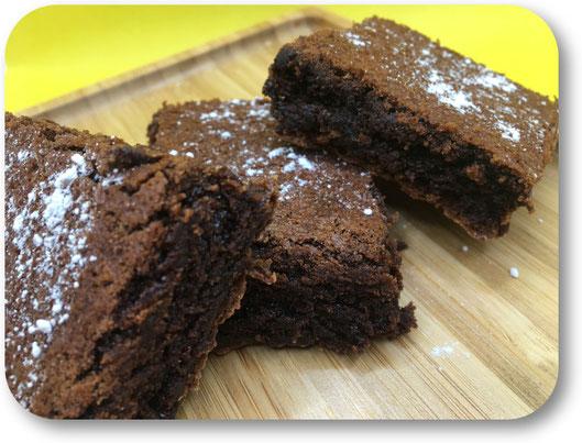 Brownie chocolat noir et farine de quinoa