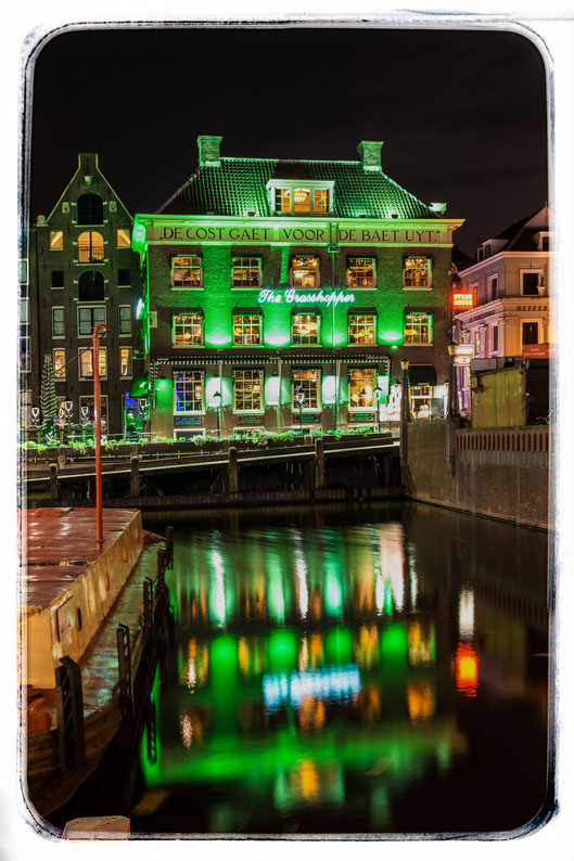 Amsterdam, The Grashopper, einer der ältesten Coffeeshops Amsterdams, Januar 2015