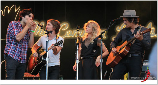 The Common Linnets - zomerparkfeest venlo 2016 -  (c) maris rietrums (mr-pepper)