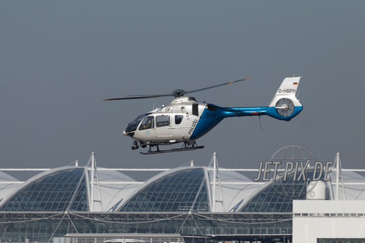 D-HBPH Polizei Bayern Eurocopter EC135 P2+ Flughafen München Sicherheitskonferenz 2017