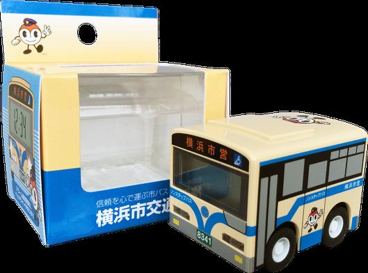 目覚まし時計 バス型 パッケージ
