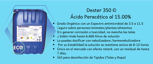desinfectante acido peracetico covid 19