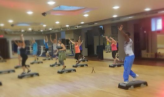 Aerobic Step Stepper Fitness Fitnessstudio Gruppensport Sport