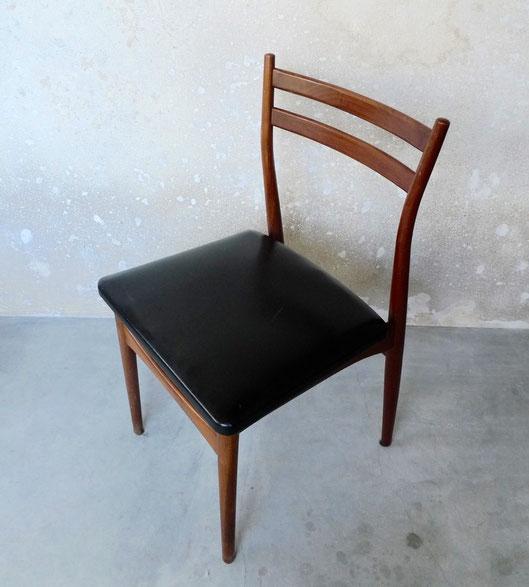 JOLI, chaises scandinaves palissandre