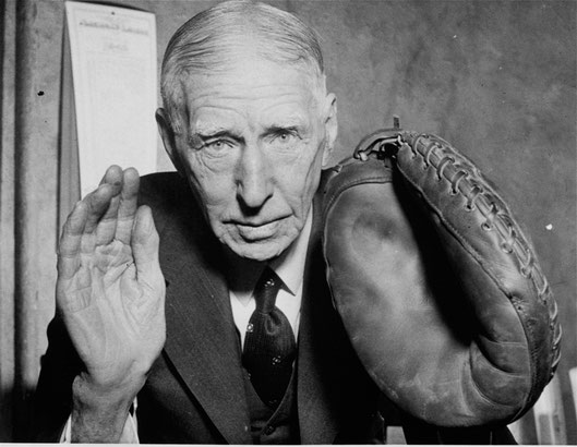 Il manager Connie Mack