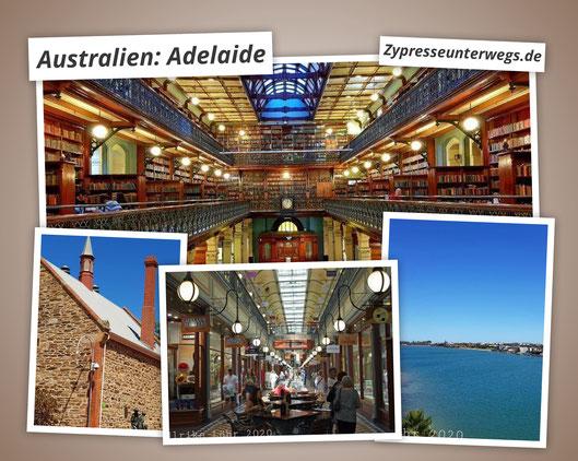 Adelaide, australische Metropole am Saint Vincent Golf