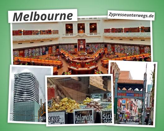 Melbourne - die zweitgrößte Stadt Australiens