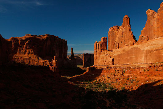 Park Avenue Trail, Arches National Park USA