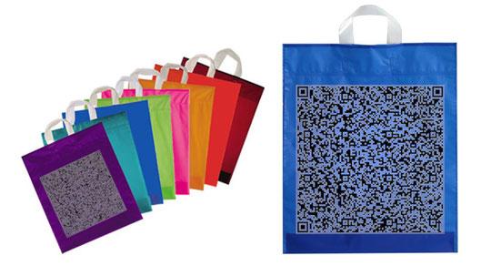 Tasche mit QR-Code bedrucken lassen