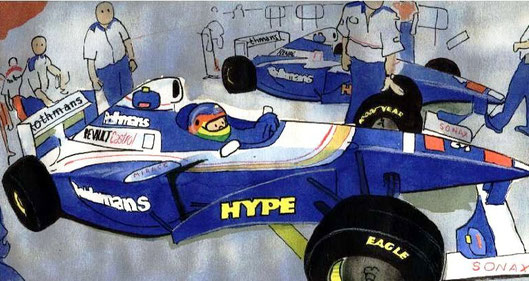 Jacques Villeneuve by Muneta & Cerracín