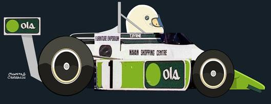 1981 - FF2000 Van Diemen RF81 - Tommy Byrne by Muneta & Cerracín