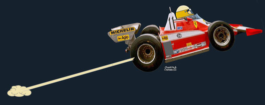 Jody David Scheckter by Muneta & Cerracín