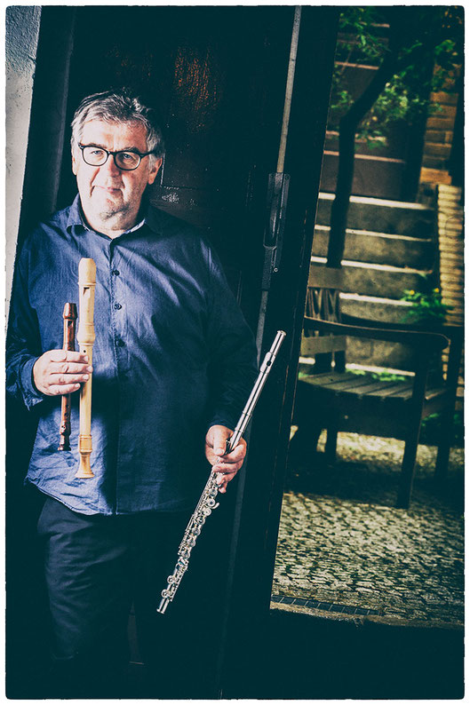 Georg Fischer - Flötenlehrer, Querflötenunterricht und Blockflötenunterricht, Querflöte und Blockflöte spielen lernen in Berlin Mitte, flute and recorder classes, flute teacher, Musikkapelle Berlin, Photo Graham Hains