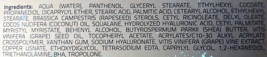 Senza conservanti, profumo, coloranti. Dermatologicamente testato