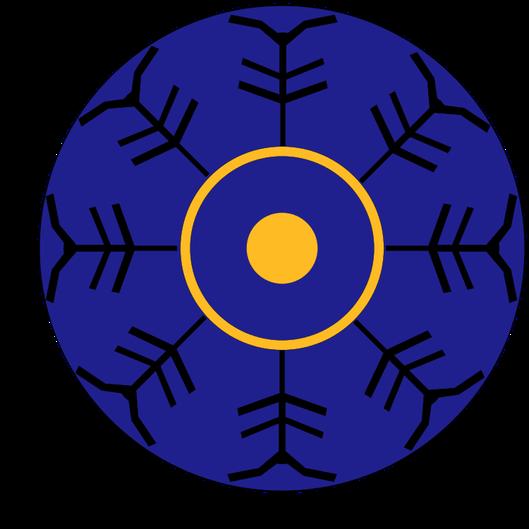 """Emblème sur les boucliers du détachement """"COMITATUS"""" de la LEGIO DECIMA GEMINA  (période du bas Empire)"""