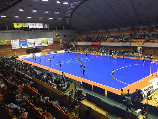 Half time show (image) Machida Municipal Gymnasium Machida City, Tokyo, sports futsal fleague attraction touristspot visittama visittokyo visitjapan
