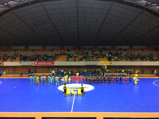 "Before the ""Tama Derby Match"" at Machida Municipal Gymnasium Tokyo Machida City F-League Futsal sports attraction entertainment tourist spot Visit Tama - Tama Tourism Promotion"