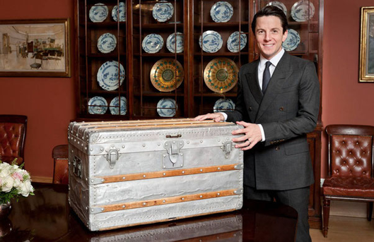 Matthew Rubinger - christie's trunk vuitton
