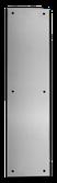 PUSHP-3 1/2 × 15 PLACA DE EMPUJE