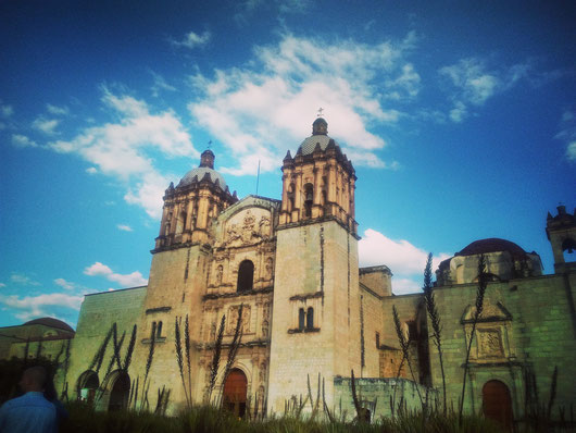 Santa Domingo in Oaxaca. I guess one of the most photographed places there.