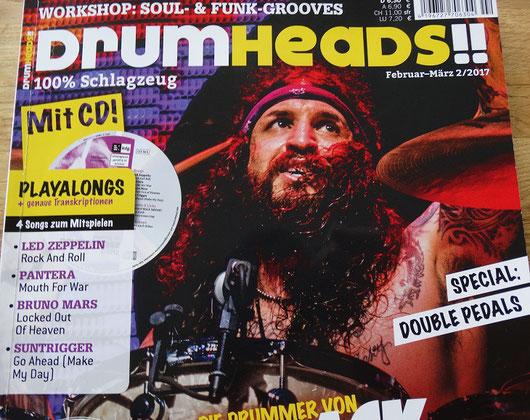 Suntrigger in der Drumheads 02/17