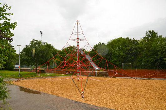 Das Klettergerüst - eines von vielen Projekten, die mit Beteiligung des VEFF realisiert werden konnten.