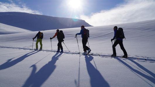 Skitouren mit Bergführer Andreas Wierer, Zillertal