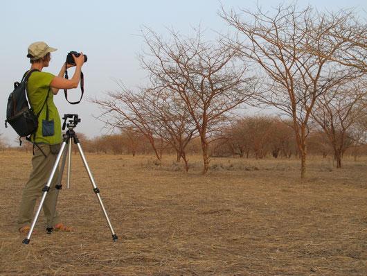 Tournage Tchad avec Terre Nourricière