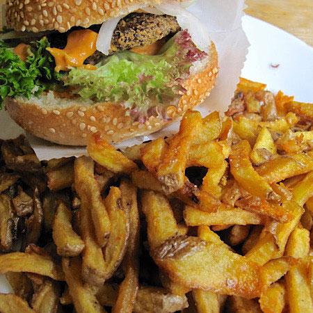 vegan burger indefinite adventure
