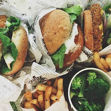 vegan burger mostly amelie