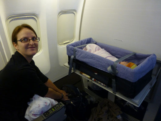 Travel Baby Flight Barcelona