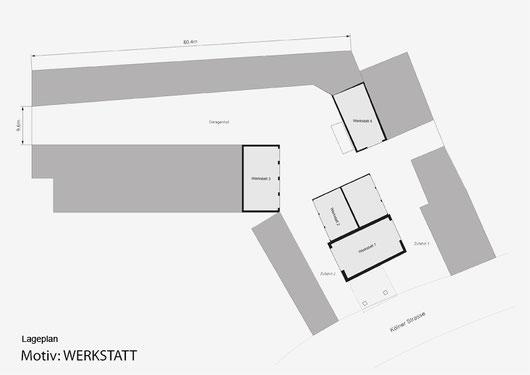 Lageplan Werkstatt