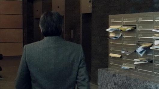 Briefkasten von der Seite im Film