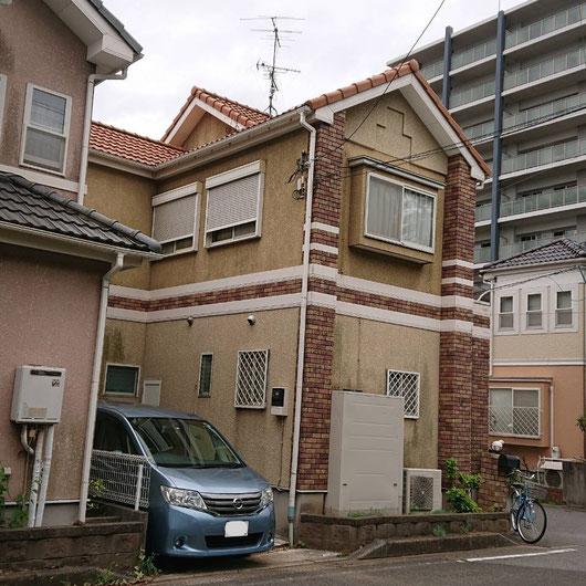千葉市美浜区浜田の屋根、外壁塗装工事 塗装前
