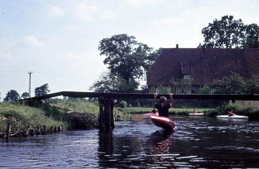 1963, Krafttraining auf der Lesse, Belgien