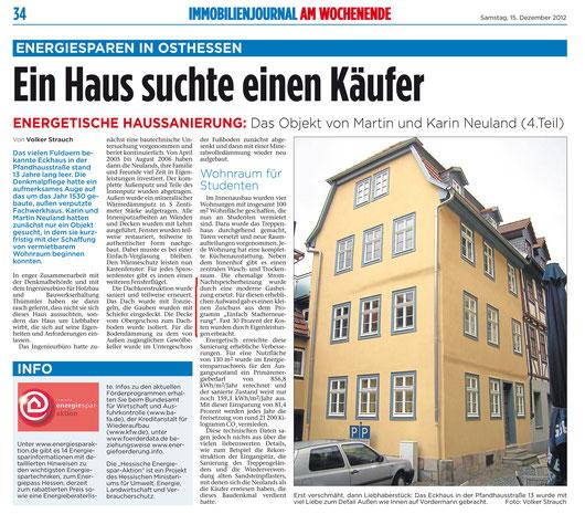 Energetische Haussanierung Fulda