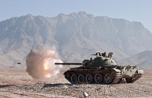 Les T-62 soviétiques, nouvelles menaces pour les forces occidentales