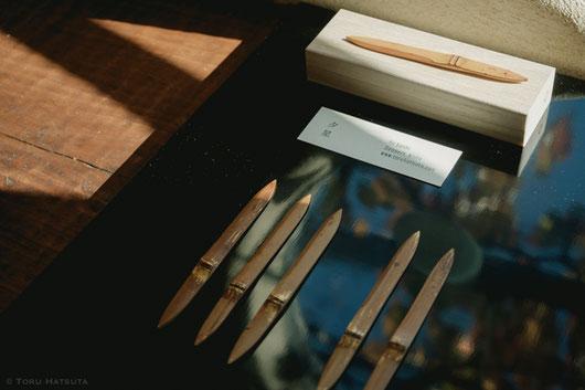 日用の道具、茶の道具も竹工芸の作品の延長線上に