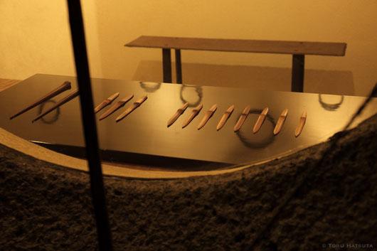 菓子切りやペーナーナイフなど、私の定番道具もございます
