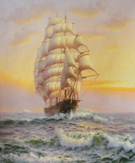 «Парусник в море»