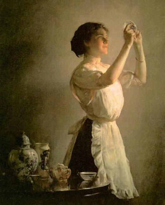 Джозеф де Камр «Голубая чашка»