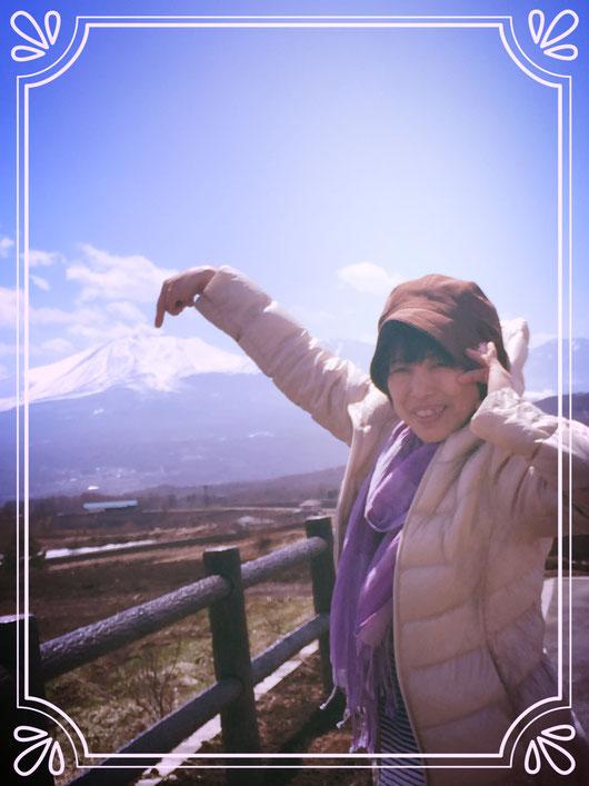 ヤッホー⭐︎美しい山