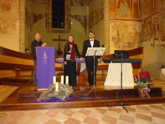 Concerto di Natale,  21.12.2014, Santa Maria del Casale, Brindisi (Italia)