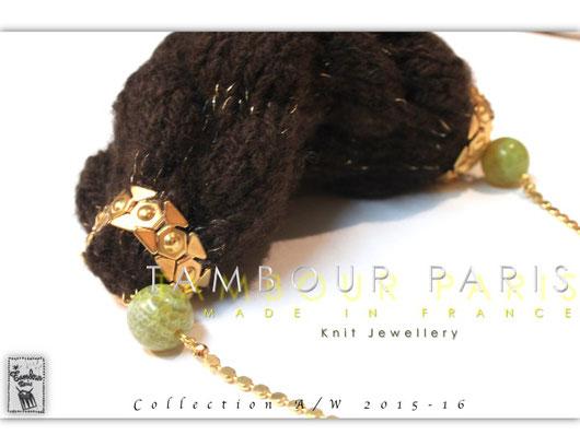 Sautoir-Pochette: Cache-Cache ( Collection « Mongolie Mon Amour » AW2015-16 )