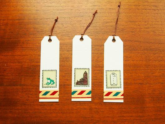 荷札風栞3種