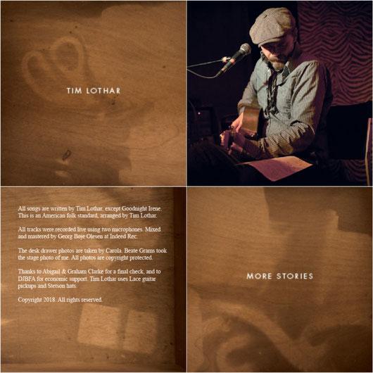 """TIM LOTHAR """"MORE STORIES"""" 05/2018"""