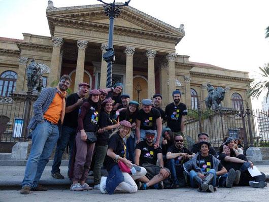 Palermo Improvvisa Scalino23 Improvvisazione Teatrale Palermo